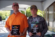 2017 Junior Anglers of the Year Chris Grose & Matt Renner