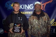 43rd & Junior Angler of the Year Chris & Mike Grose